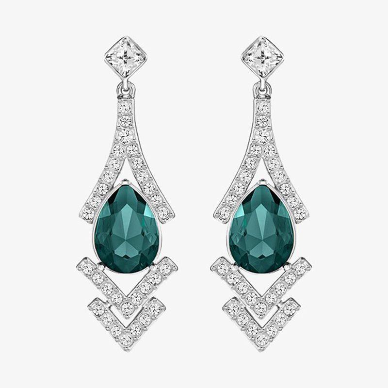 teal-diamond-earrings-free-img